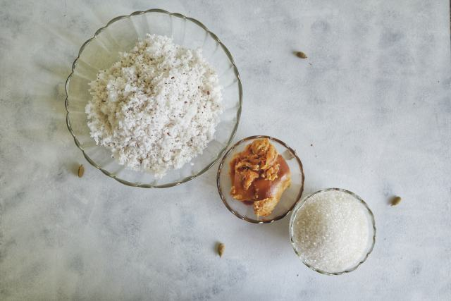 fromthecornertable, traveltuckintalk, tuck in, coconut, confection, sweet, Indian