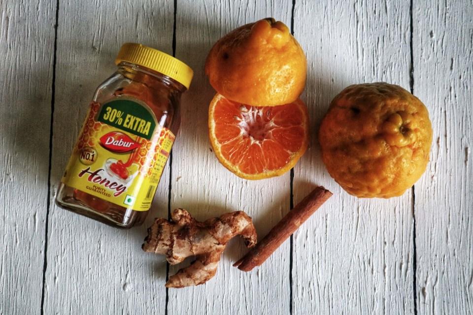 orange ginger tea, fromthecornertable, from the corner table, tea, recipe