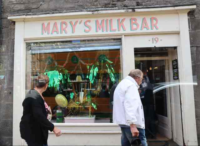 Mary's Milk Bar Edinburgh Must Eat FromTheCornerTable From The Corner Table