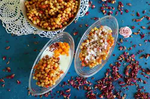fromthecornertable, tuck-in, bengalifood, bengalirecipe, bengali sweet, dessert, indiansweet, boonde, dai, doi, yoghurt, yogurt, curd