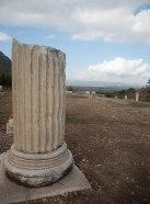 Looking toward the sea from Ephesus