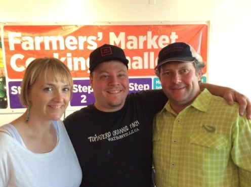 Chefs Sarah and Evan Rich, Jason Brady