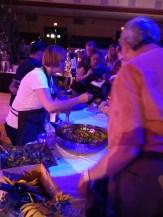 Sarah serving panzanella