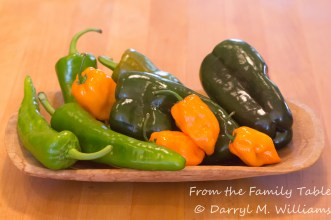 Chiles from the farmers market