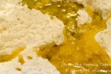 Flour, yeast, and olive oil - key ingredients for the grissini