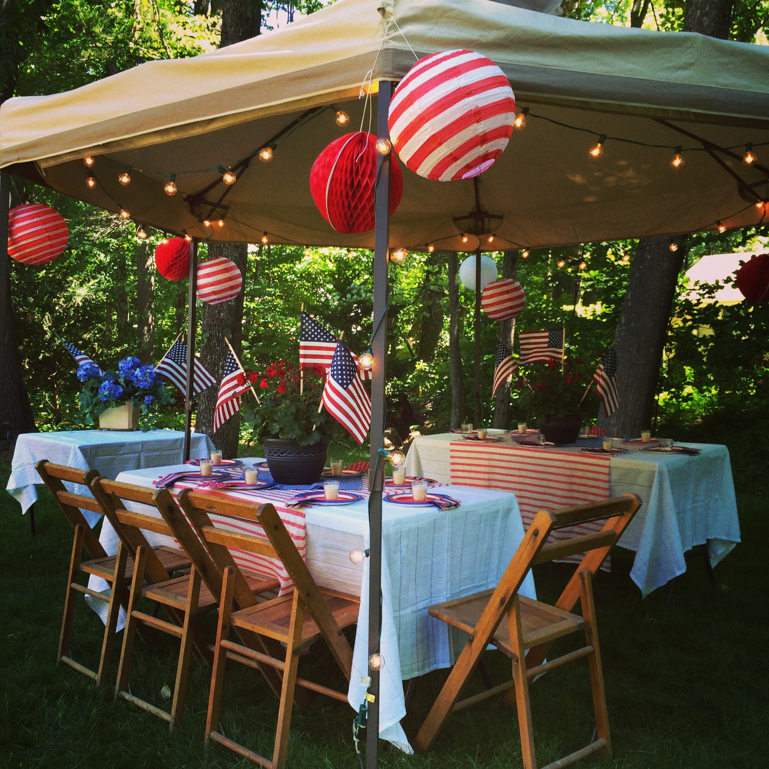 Happy Independence Day! Backyard Party And Recipe