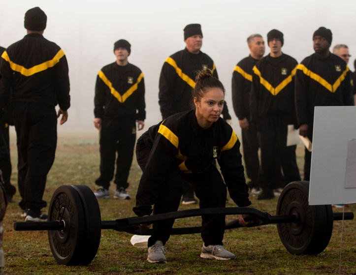 U.S . Army Reserve Headquarters prepares for new fitness test with diagnostic events