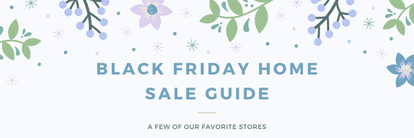 2020 Home Decor and More Black Friday Guide