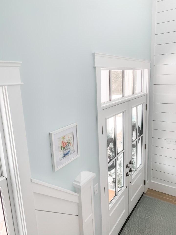 blue foyer
