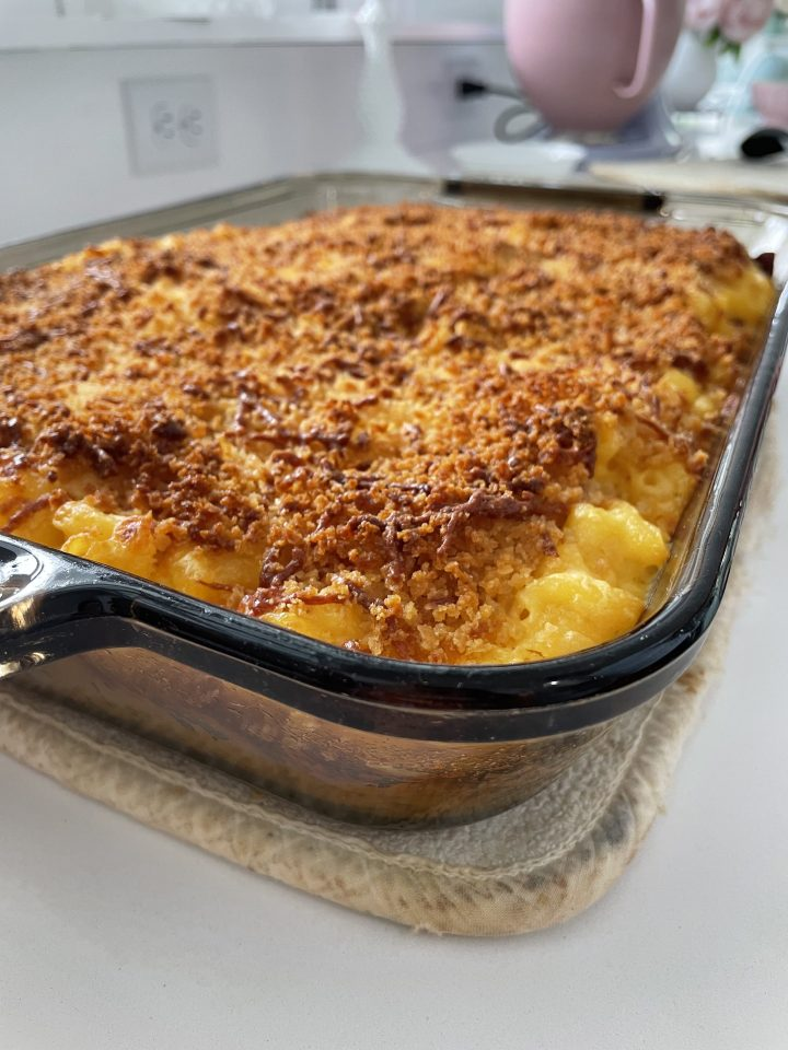 gluten free baked mac and cheese