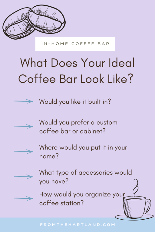 What Does Your Ideal Coffee Bar Look Like?