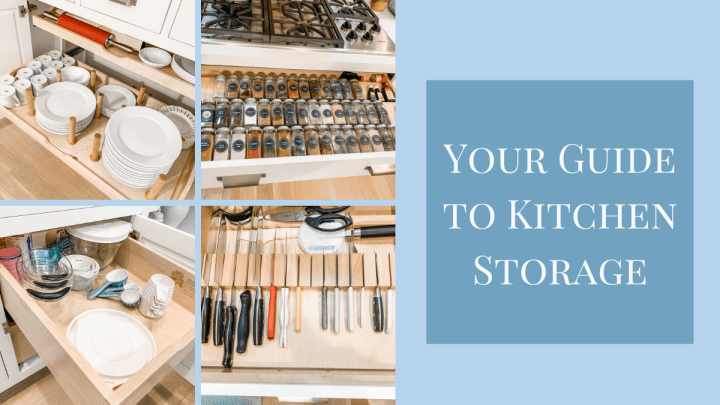 Your Guide to Kitchen Storage