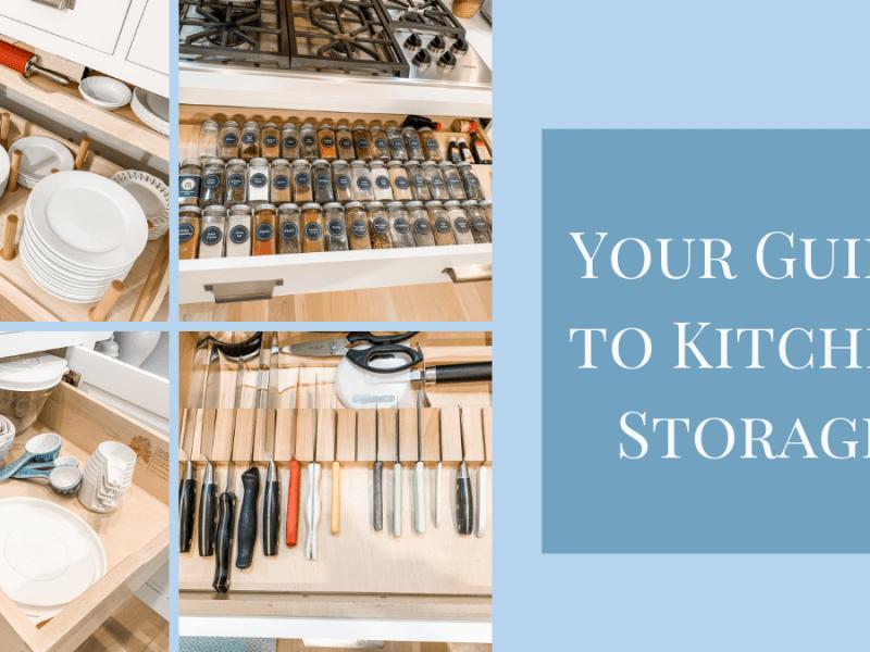 Guide to Kitchen Storage