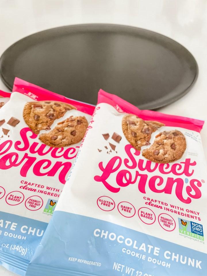 Sweet Loren's gluten free cookie dough