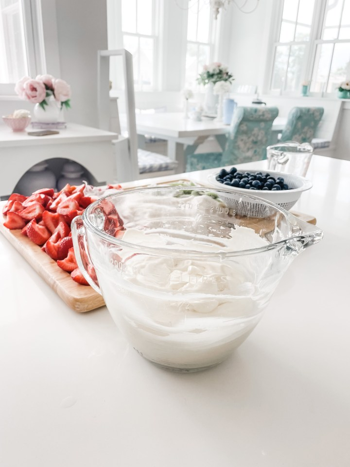 cream cheese whipped topping