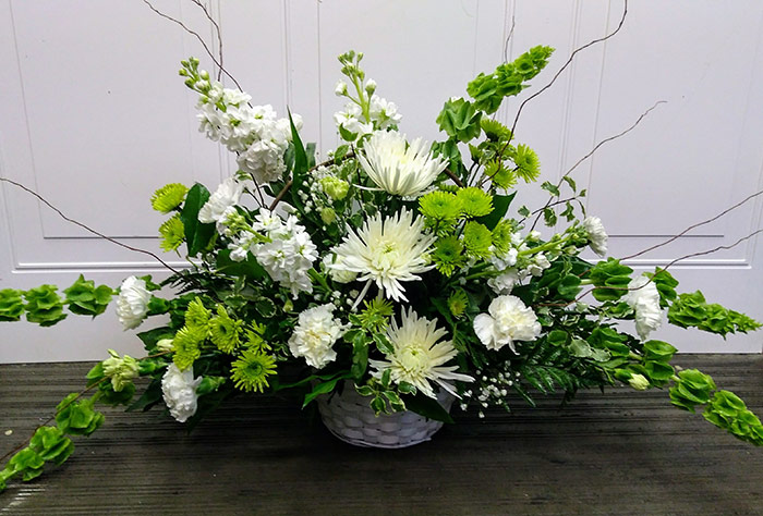 Sympathy and Funeral Arrangements - Alter Arrangements - From the Heart Florist