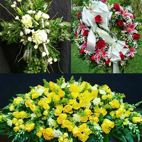 Sympathy and Funeral Arrangements by From the Heart Florist