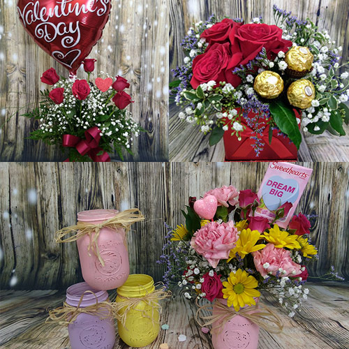 Valentine's Day Bouquets and More