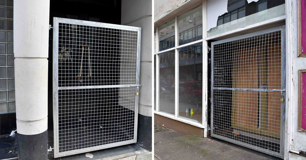 Swansea homeless left with nowhere to sleep after gates put up in doorways