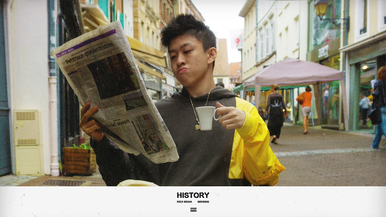 "MV: Rich Brian / 88Rising – ""History"""