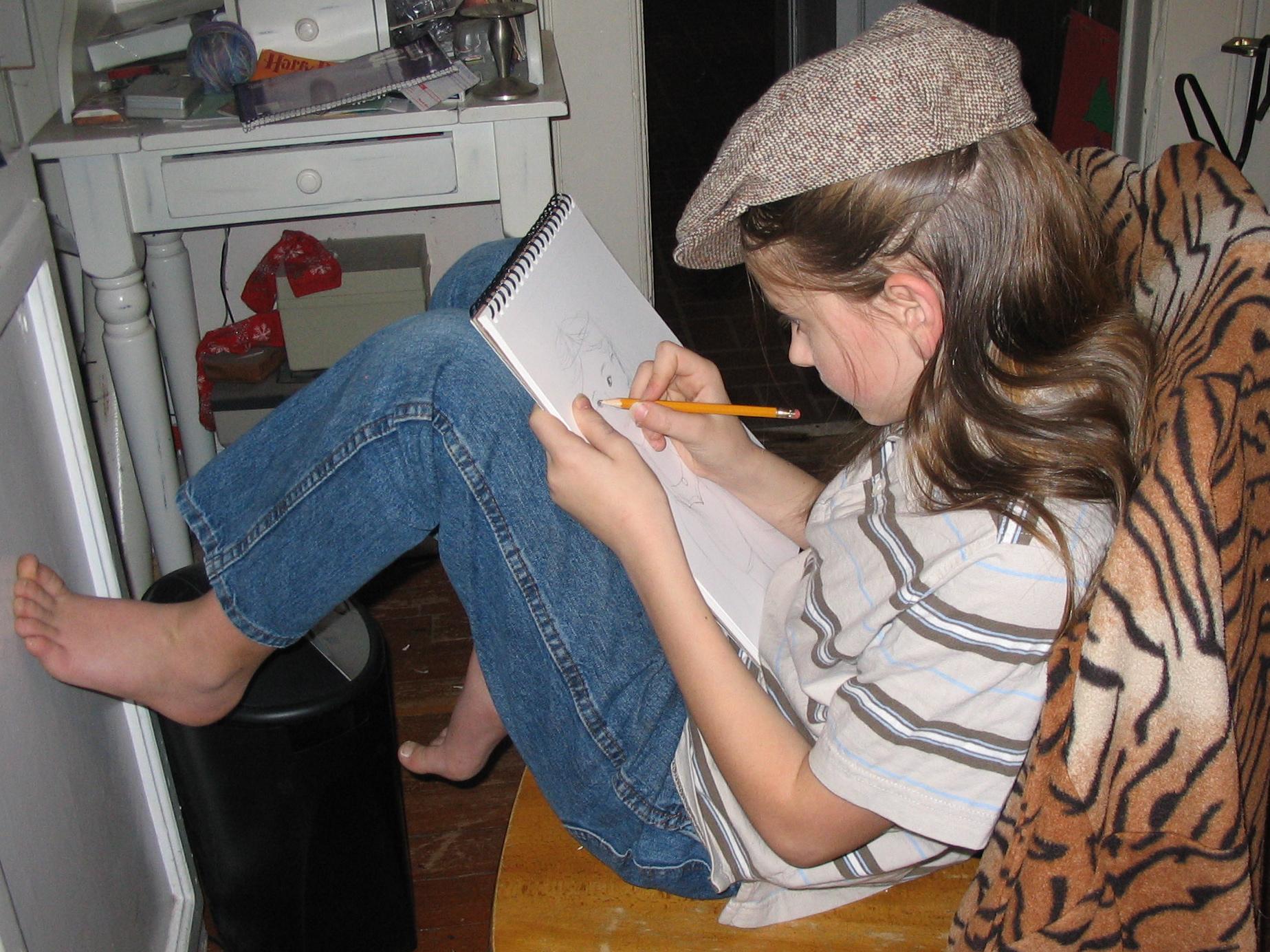 avid writer