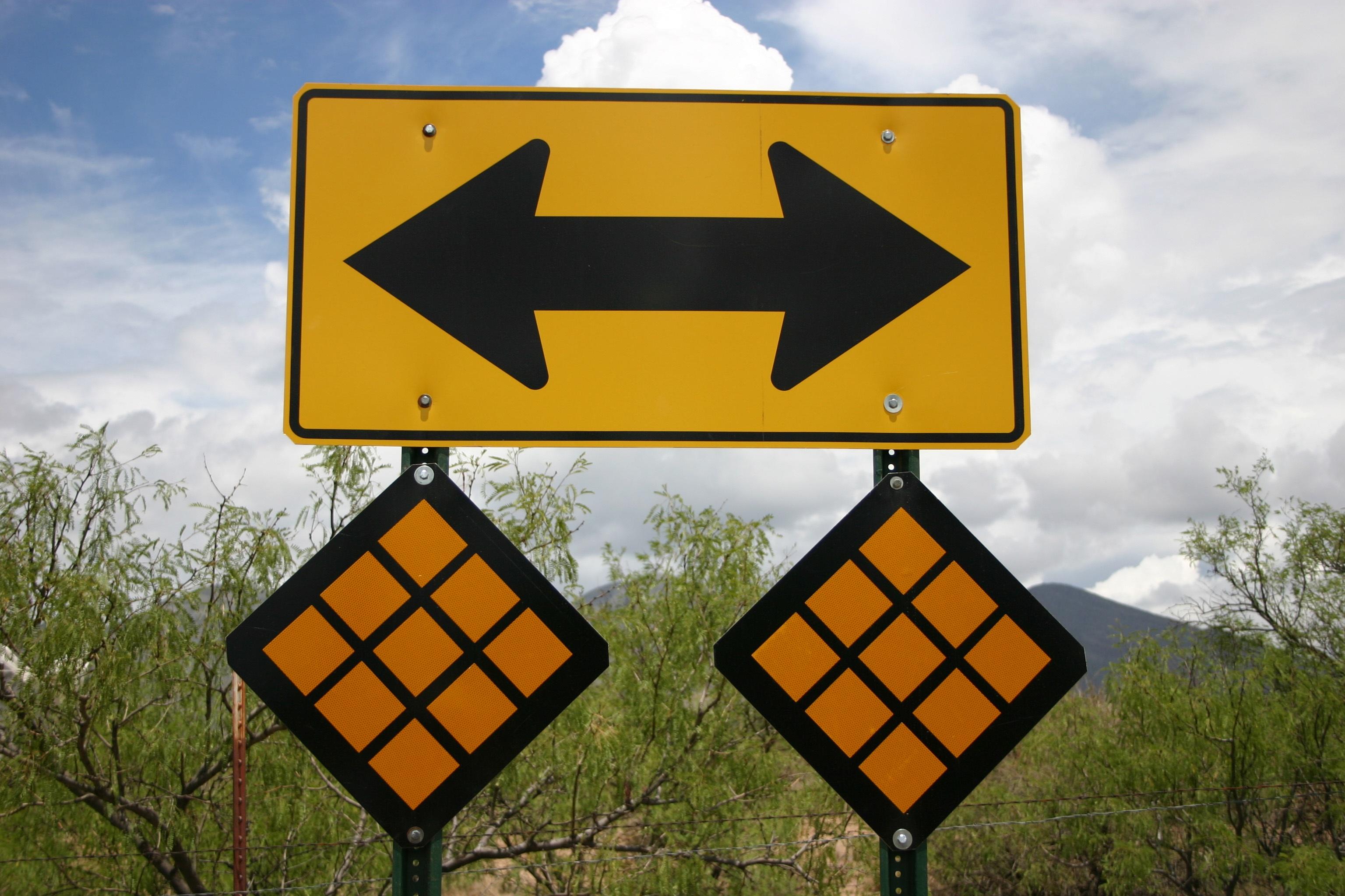 Which Way Next...?