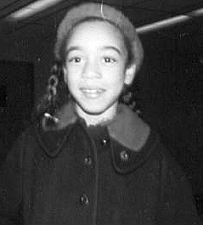Carole as a child
