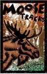 Birchbark moose tracks