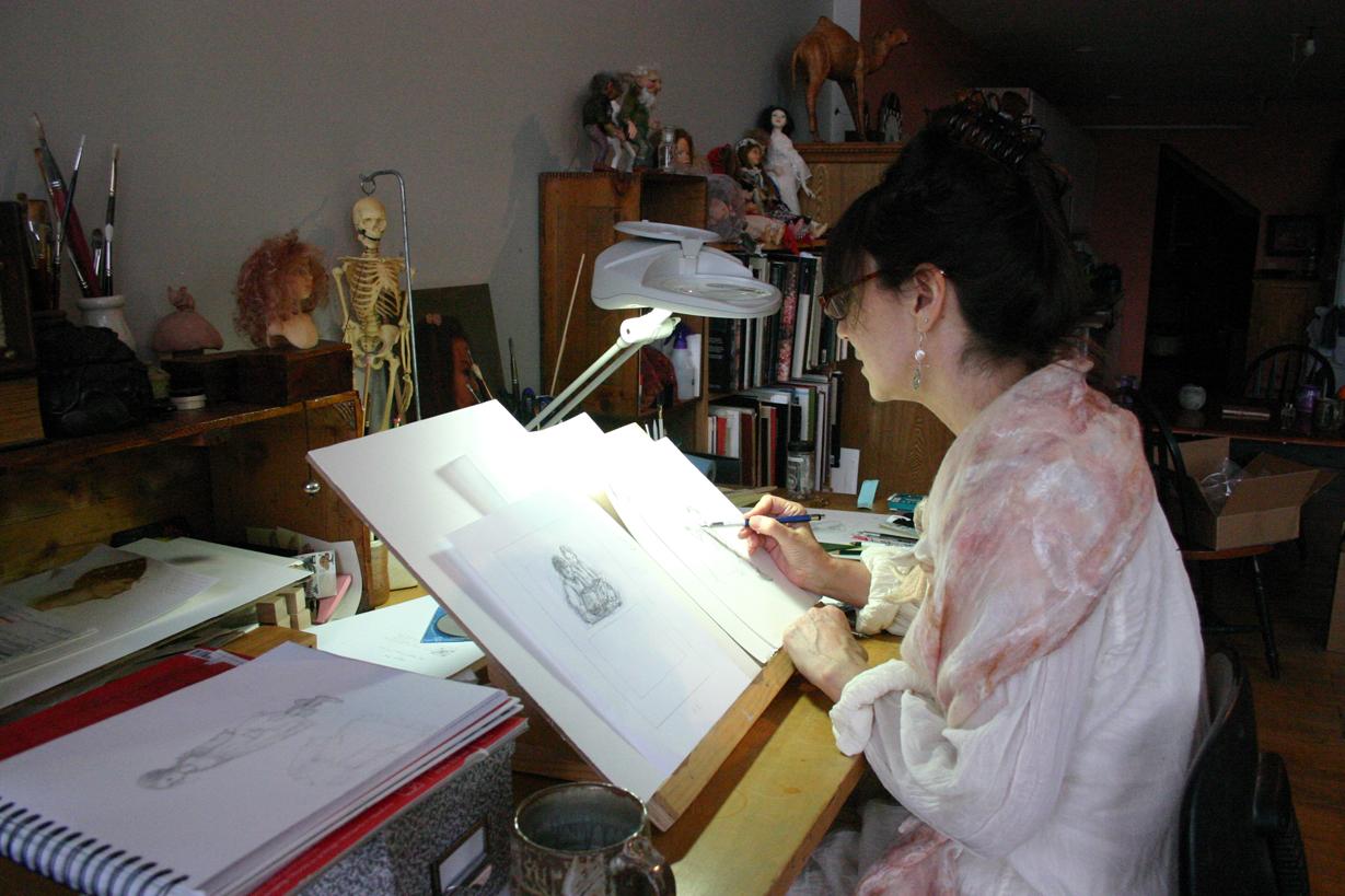 Meet the Illustrator: Lauren A. Mills