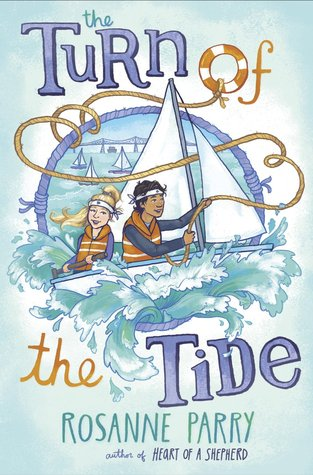 It's a Book Birthday for Rosanne Parry and The Turn of the Tide!