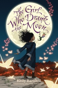 Book jacket for The Girl Who Drank the Moon.