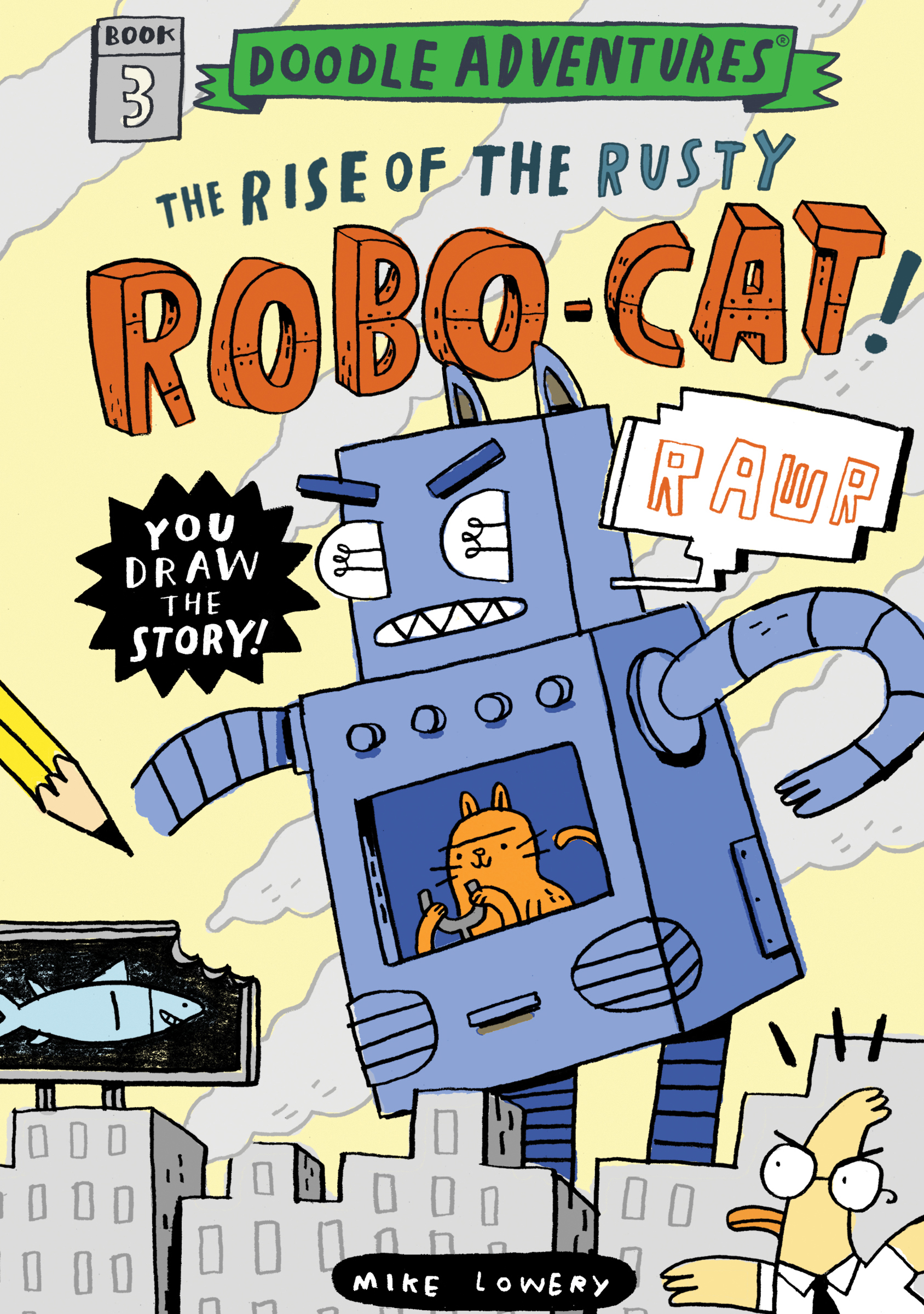 Interview with Author Mike Lowery -- and a Giveway of a set of Doodle Adventure Books!
