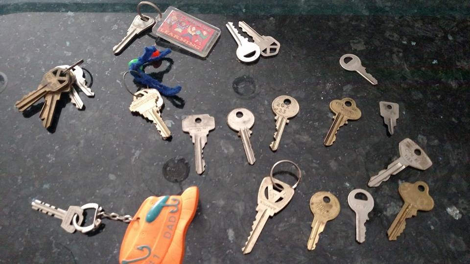 Keys. Journal. Imaginations.