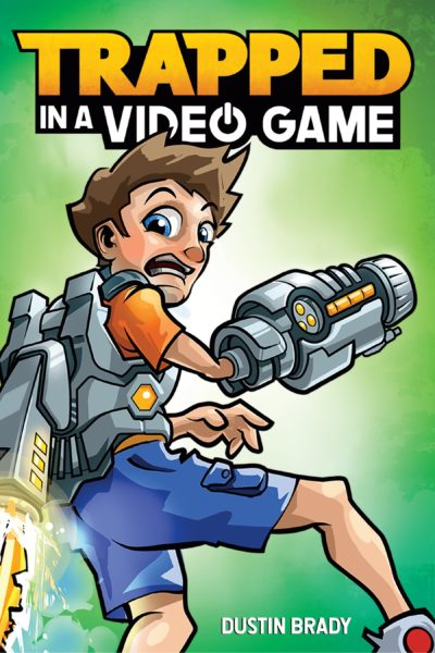 Trapped in a Video Game! Interview and Giveaway with Author Dustin Brady