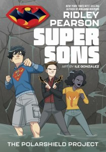 Cover Image for Super Sons: The Polarshield Project. Courtesy of DC Entertainment.