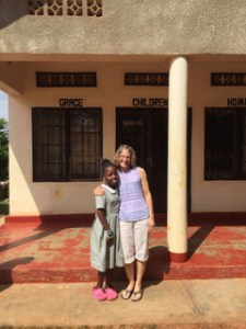 Rebeka Uwitonze and Meredith Davis in 2017, during Meredith's first visit to Rwanda.