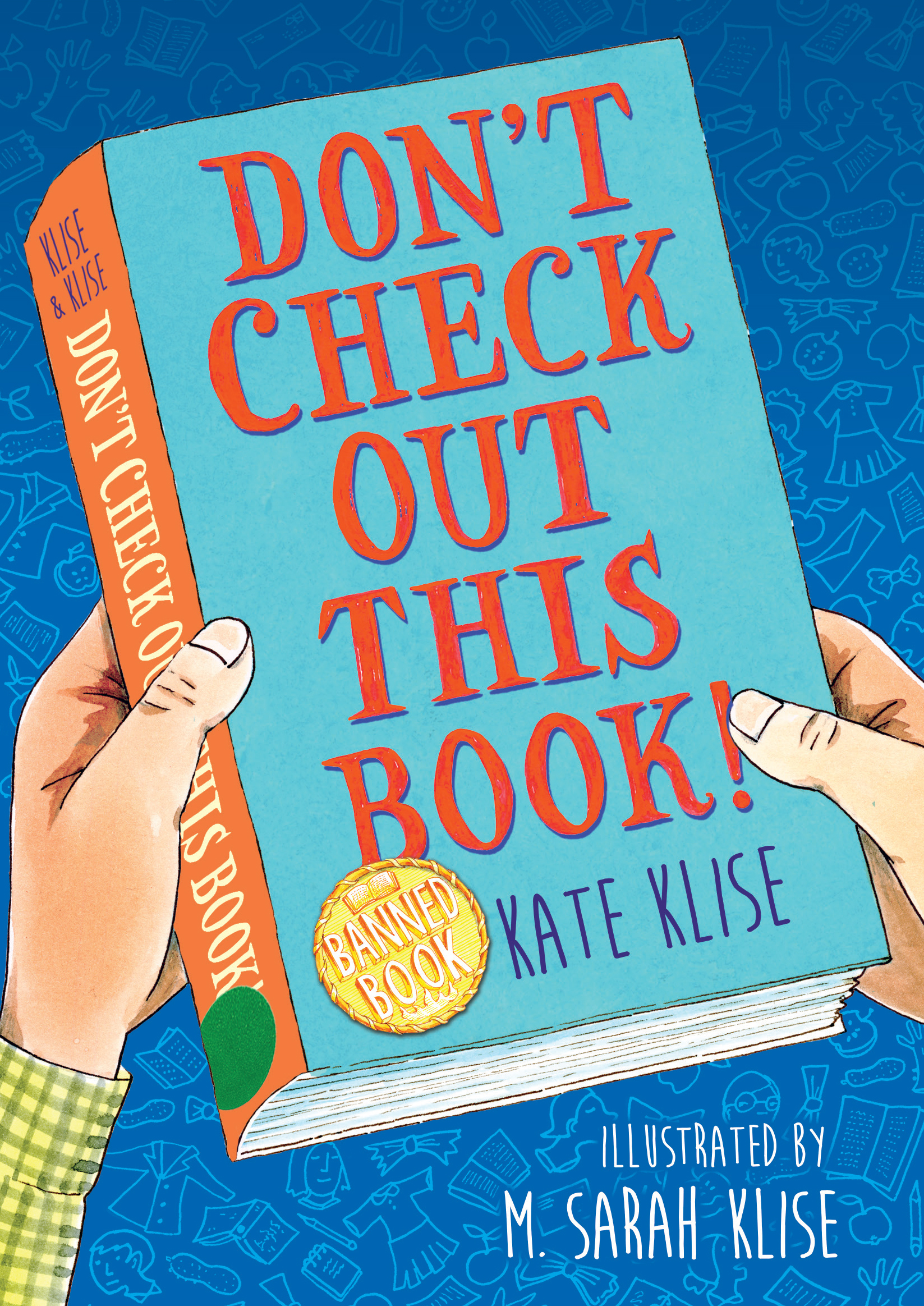 Cover Reveal: DON'T CHECK OUT THIS BOOK