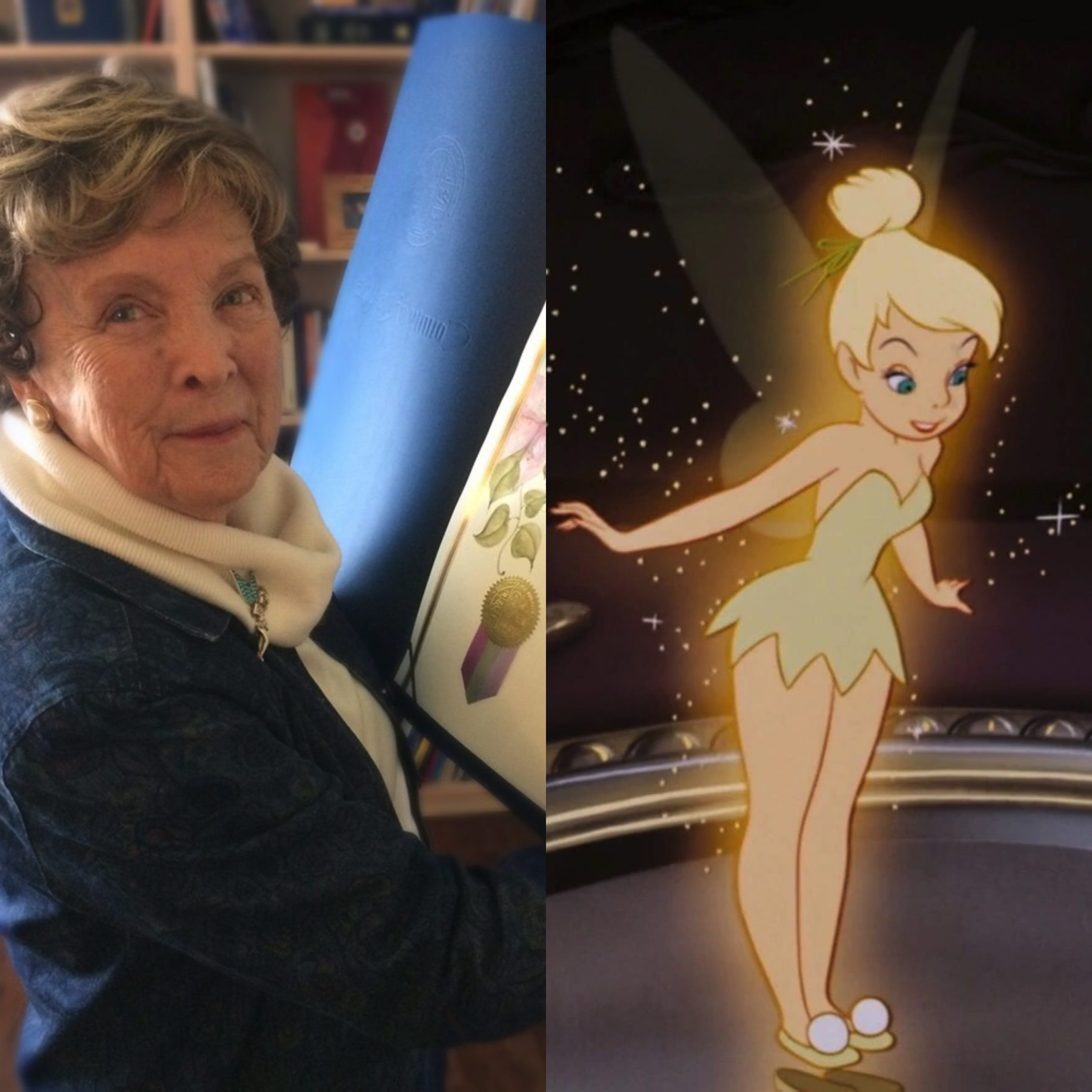 Interview with Disney Legend, Margaret Kerry, the model for Tinker Bell from the 1953 movie!