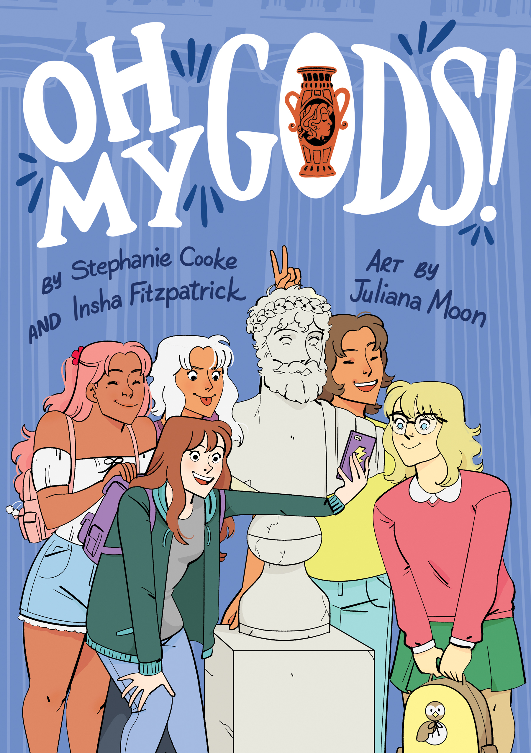 OH MY GODS Middle Grade Graphic Series - Stephanie Cooke