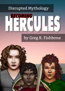 Book Cover of Becoming Hercules by Greg R. Fishbone