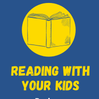 Reading With Your Kids podcast logo