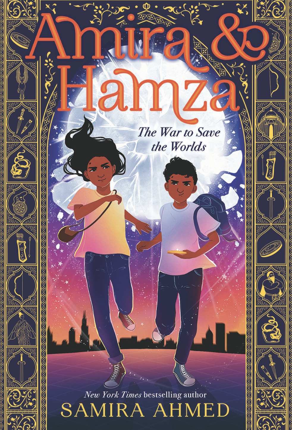 AMIRA & HAMZA: THE WAR TO SAVE THE WORLDS: Interview with Samira Ahmed + GIVEAWAY