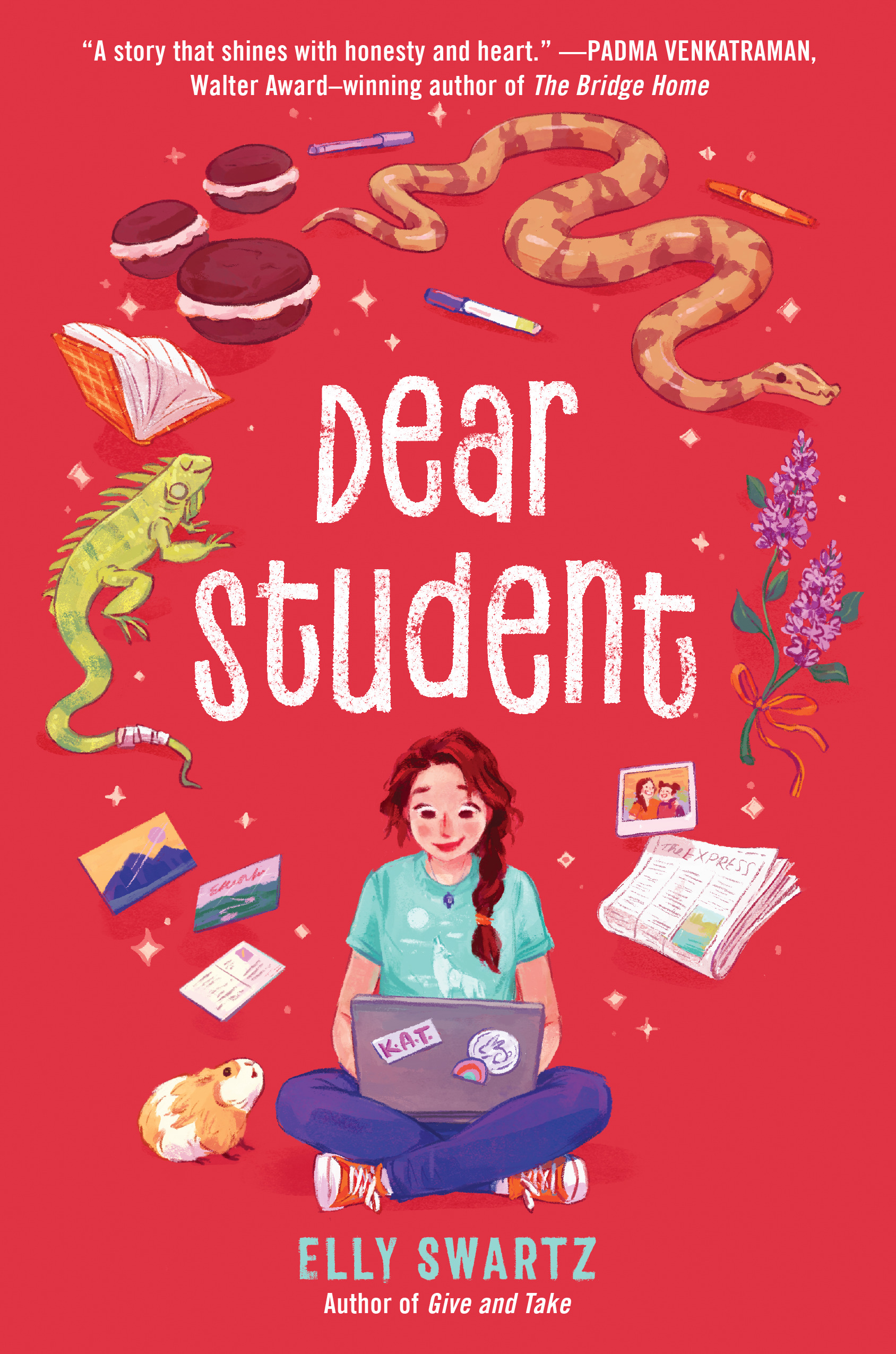 Book Cover to Dear Student by Elly Swartz