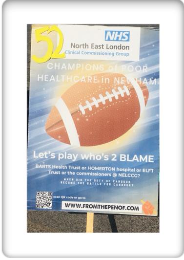 newham deserves better healthcare day 52