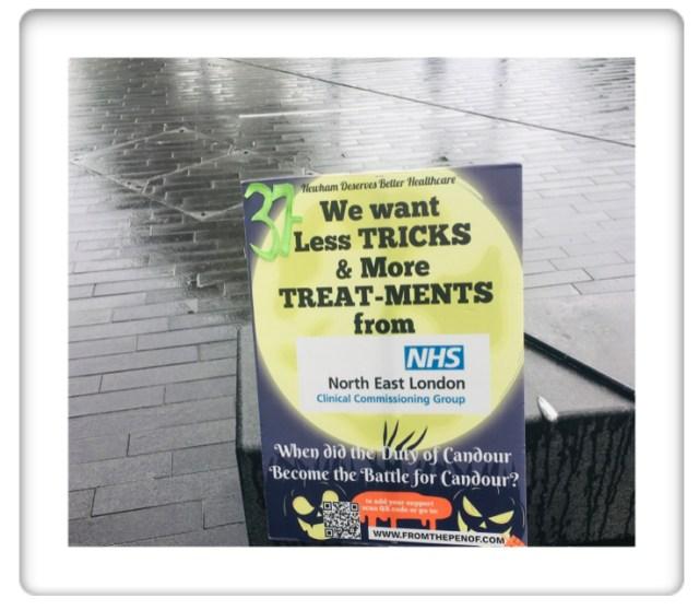 protest day 37 newham deserves better healthcare