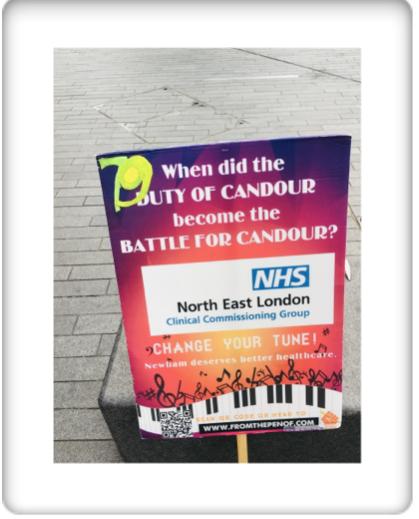 newham deserves better healthcare protest day 70