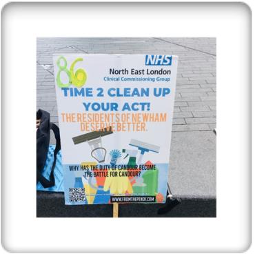 newham deserves better healthcare day 85