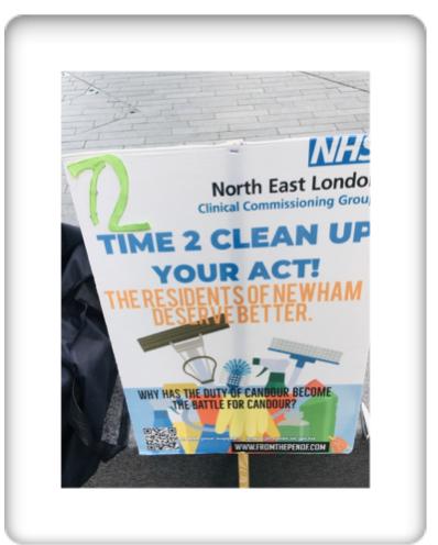 newham deserves better healthcare day 72h