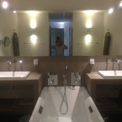 Usually, when you have a massage, it's all done in silence but my masseuse (who was very good by the way) was in the mood for a chat.  As a result, I learned some exclusivel information on this super luxury hotel in Provence.