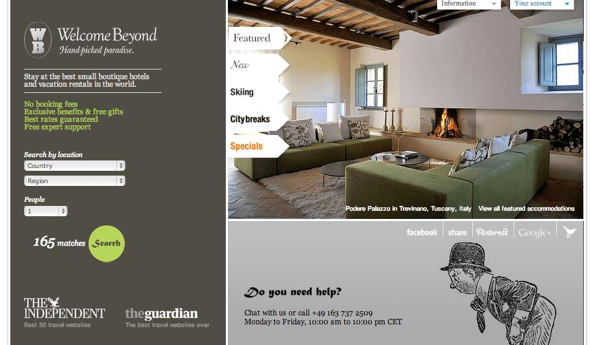 les meilleurs sites web pour trouver un boutique hotel